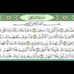 سورة الضحى بصوت الشيخ ماهر المعيقلي