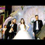 تحدى الغناء علي المهرجان بين العروسه والعريس واصحابهم في الفرح Wedding Tone