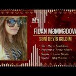 Fidan Memmedova - Seni Deyib Geldim 2019